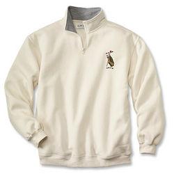 Embroidered Golf Sweatshirt
