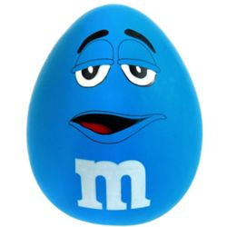 Blue M&M's Stress Ball