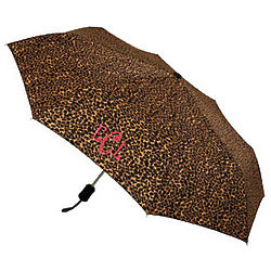 Personalized Leopard Umbrella