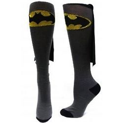 Superhero Adult Knee High Cape Sock