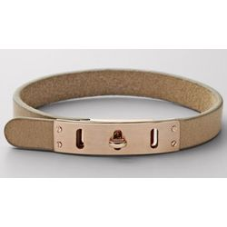 Tan Turnlock Wrist Wrap
