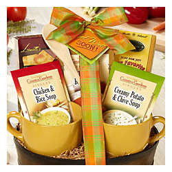 Get Well Soon Soup Gift Basket