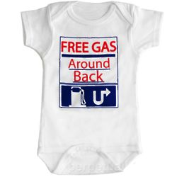 Baby's Free Gas Snapsuit