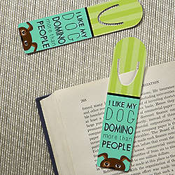 Dog Lover Personalized Bookmark Set