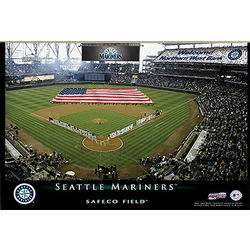 Seattle Mariners 12x18 Personalized Stadium Canvas