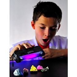 Fluorescent Glow Rocks Mineral Science Kit