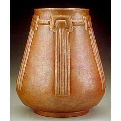 Marblehead Hammered Copper Vase