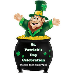 Lucky Leprechaun Personalized Standee