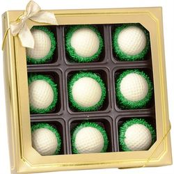 Golf Ball Chocolate Dipped Oreos