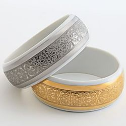 Limoges Bangle Bracelet