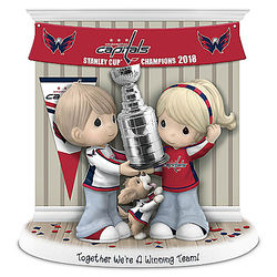 Together We're A Winning Team Washington Capitals Figurine