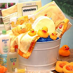 Bath Time Baby Gift Set