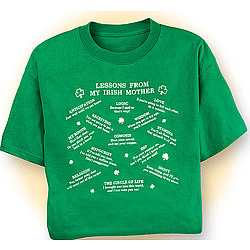 Irish Mother Lessons T-Shirt