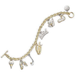 Love of The Links Golf Charm Bracelet