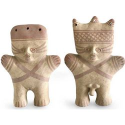 Cuchimilco Protection Ceramic Sculptures