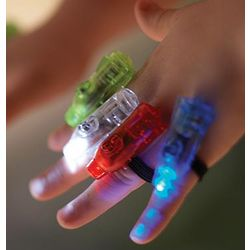 Super Finger Flashlights Party Pack