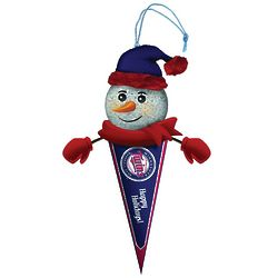 Minnesota Twins Light Up Snowman Ornament
