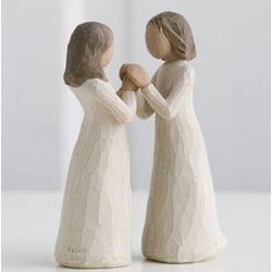 Sisters by Heart Willow Tree Figurine