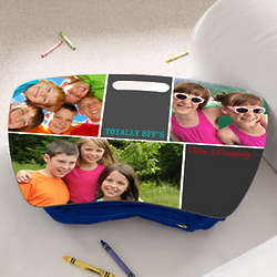 Personalized Best Friends Three Photo Lap Desk