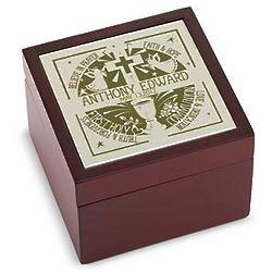 Personalized Communion Tile Box