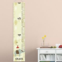 Kid's Personalized Canvas Height Chart