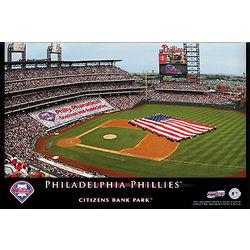 Philadelphia Phillies 12x18 Personalized Stadium Canvas