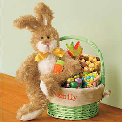 Personalized Bunny Meadows Easter Gift Basket
