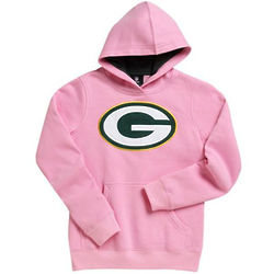 Toddler Packers Pink Pullover Hoodie