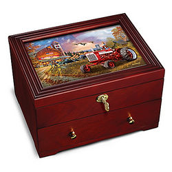 Farmall: Family Tradition Strongbox with Dave Barnhouse Art