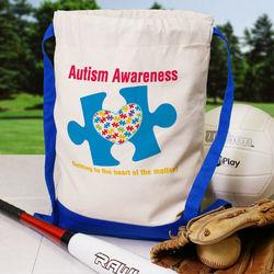 Autism Awareness Sports Bag
