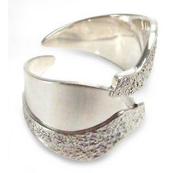 Love of Nature Sterling Silver Wrap Ring