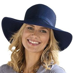 Women's Packable Ribbon Sun Hat