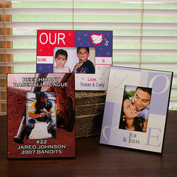 "Personalized 4"" x 6"" Photo Frame"