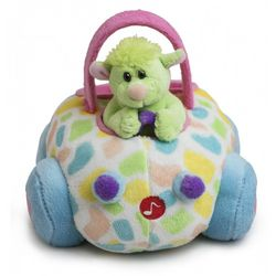 Happy Easter Plush Lamb Buggy with Sound