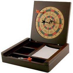 Personalized Executive Dart Board Stationery Box