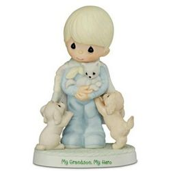 Precious Moments My Grandson, My Hero Figurine