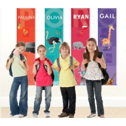 Personalized Alphabet Growth Chart