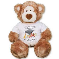 Personalized 18 Inch Graduation Teddy Bear
