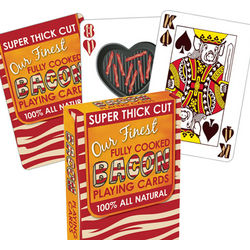 Bacon Playing Cards
