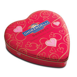 Large Valentine's Day Heart Gift Tin
