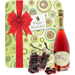 Guilty Pleasures Birthday Wine Gift Set
