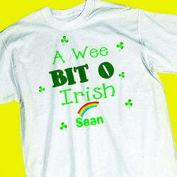 Youth's Wee Bit o Irish T-Shirt