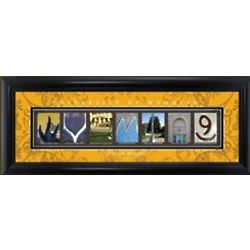 Personalized University of Wyoming Architecture Print