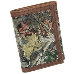 Camouflage Tri Fold Men's Wallet