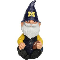 Michigan Wolverines Gnome Garden Bobblehead