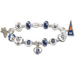 MLB Tigers Fan Beaded Bracelet
