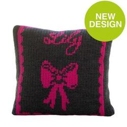 Bow and Name Pillow