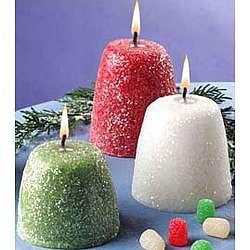 Gumdrop Candle Set