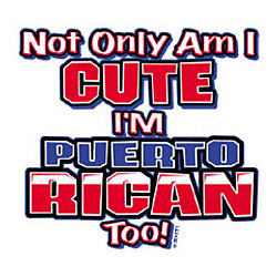 Youth Cute/Puerto Rican T-Shirt