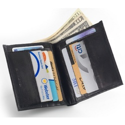 Slip Coat Hipster Bifold Wallet